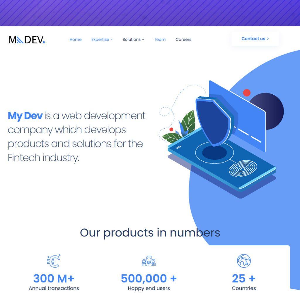mydev חברת פיתוח